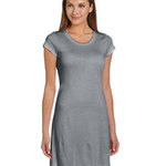 Ladies'  3.8 oz. Vintage Jersey T-Shirt Dress