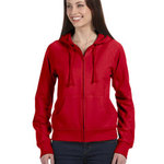 Ladies'  7.5 oz. Full-Zip Raglan Hoodie