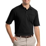 SpotShield™ Jersey Knit Sport Shirt with Pocket