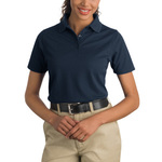 Ladies Industrial Pocketless Pique Polo