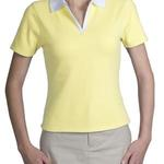 Ladies Split Placket Sport Shirt