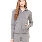 Ladies'  6.5 oz. Cotton/Spandex Cadet Jacket